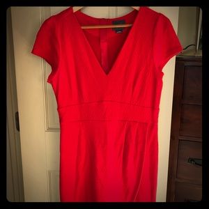 Anthropologie Dresses - NWOT Red dress Maeve Anthropologie 💃🏻
